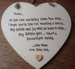 Shabby Personalised Chic Mother Of The Bride Gift For Daughter On Her Wedding.. - 232881770197